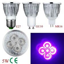 4W 5W E27 GU10 MR16 UV LED UV Strahler Lampe Lampe AC 85-265V 12 große