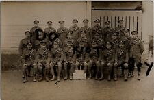 WW1 soldier group surviving Drivers 35th Division Ammunition Column RFA France