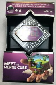 MERGE CUBE AR VR (Augmented Reality / Virtual Reality) Interactive Hologram