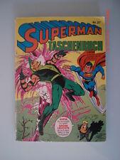 Superman Taschenbuch Nr. 27 1980