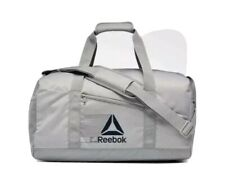 NEW Reebok Active Foundation Grip Duffel Medium MGH Solid Gray Color w/ Tags NWT