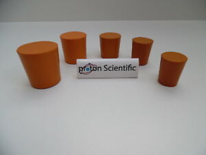Rubber Bungs Stoppers Laboratory Solid Stoppers Various Sizes *Multi Listing*