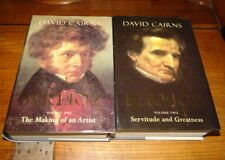 BERLIOZ-THE MAKING OF AN ARTIST&SERVITUDE AND GREATNESS.VOLS I&II BY DAVID CAIRN