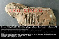 Brick, tile, LEG XIIII, military, Legion, Queen Boudicca, 1.- 4. Century AD