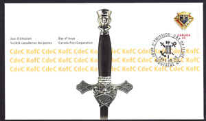 Canada   # 1656    KNIGHTS OF COLUMBUS       Brand New 1997 Unaddressed Cover