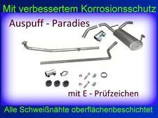 Abgasanlage Auspuff Endtopf Schalldämpfer Peugeot 107 1.0i 12V  Steilheck  + Kit