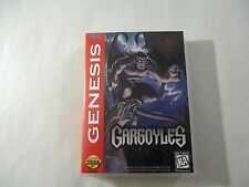 Gargoyles  CUSTOM SEGA GENESIS CASE (***NO GAME***)