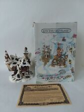 Boyds Bearly Built Village Hoofer Hall Reindeer Dormitory Winter Figurine