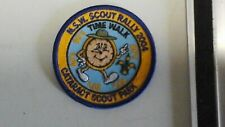 Australian Scout Badge NSW Scout Rally 2004 (Time Walk) Cataract Scout Park