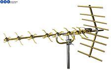 Philex Slx de alta ganancia oro 48 elemento 4G listo Antena de TV digital Freeview