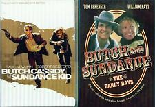 Butch Cassidy & Sundance Kid 1&2: Original Collectors Ed + Early Days New 3 Dvd