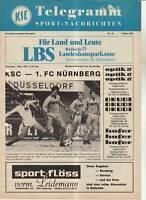 BL 80/81  Karlsruher SC - 1. FC Nürnberg