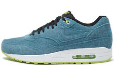 Nike Air Max 1 FB BLUE LEOPARD SIZE 40 US 7 PREMIUM YOTS 90 Essential 579920 440