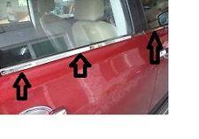 QASHQAI 2007>2013 Window Trim Set Stainless Steel FITS QASHQAI +2 AFTERMARKET