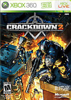 Crackdown 2 Microsoft X360 Video Game - Brand New & Sealed Free Shipping!