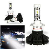 2PCS H7 6000K LED Headlight White High Beam Light Bulbs Power Lamp For SUV Cars