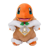 Pokemon Center Plush Doll Sawsbuck Poncho Charmander Pokemon Frosty Christmas JP