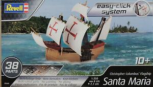 SANTA MARIA COLUMBUS SAILING SHIP REVELL 1:350 SCALE PLASTIC MODEL SHIP KIT