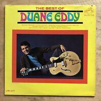Duane Eddy The Best Of Duane Eddy 1966 Vinyl LP RCA Victor Records LPM-3477