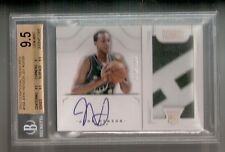 John Henson 12/13 National Treasures RPA Rookie Auto #16 SN#15/199 BGS 9.5/10