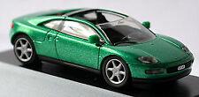 Audi quattro Spyder 1991 gomera vert vert métallisé PC-Vitrine Display-Box 1:87