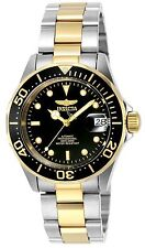 Invicta Unisex Pro Diver Automatic Watch With Black Dial Analogue Display