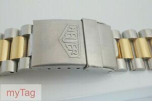 HEUER  Complete Bi- Metal  2000 Series Bracelet 274.006, 264.006, 244.006