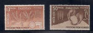 Pakistan   1963   Sc # 176-77   MNH   OG   (53760)