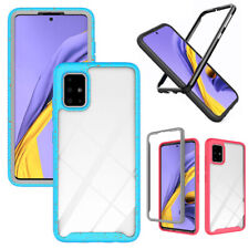 For Samsung Galaxy A51 A71 4G Phone Case Clear Bumper TPU Hard Shockproof Cover