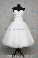 Plus Size Strapless Short Sleeve Wedding Dresses