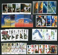 GR. BRITAIN 1991 Commemorative Year Set, 8 sets Mint NH