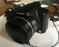 Panasonic Lumix DMC-FZ18 noir, zoom 18X, chargeur, 2009, excellent état