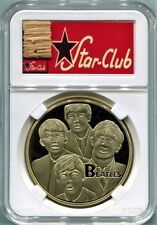 Beatles Star Club Hamburg Germany Real Wood Stage Piece in a Gold Medal Display