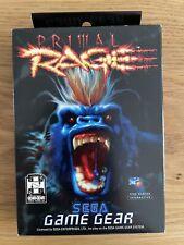 Primal Rage - Sega Game Gear - mit OVP, Sehr Guter Zustand!