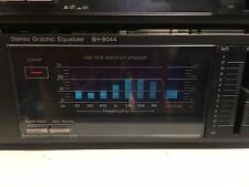 1980's TECHNICS SH-8044 Stereo Hi-Fi Separates Amplifier Analyser JAPAN