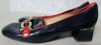 marc by Marc Jacobs Shoes buckle accent red black patent leather shoes 36 / 5.5