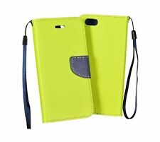 %Silikon Book Flexi Tasche ver. Handys 3 Case Leder-Imitat Hülle Etui Flip Cover