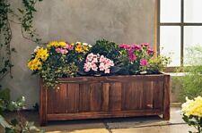 Pflanzbeet Kistenform Pflanzeimer Pflanzkorb Pflanzen Holz Balkon Garten Deko