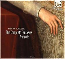 BRAND NEW! The Complete Fantazias  Henri Purcell (1659-1695) CD 2009