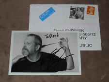 Terry GILLIAM /Monty Python/ - original autogramm, Foto 10x15 cm + cover