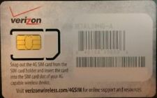 NEU Original grau Verizon Mini SIM Karte (2FF) für Verizon 4G LTE Smartphones