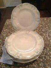 Pier 1 One imports 8 pc set Melamine Scalloped  Salad Plates Dishes - New