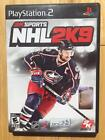 NHL 2K9 Playstation 2 (2009) SONY PS2 2KSports **TESTED WORKING**