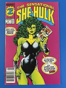 Sensational She-Hulk #1 (1989) Newsstand Edition John Byrne - VF range, see pics