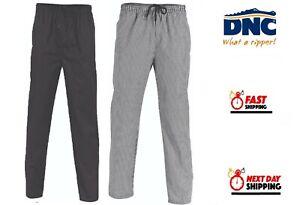 DNC Workwear Unisex Polyester Cotton Drawstring Chef Pants (1501)