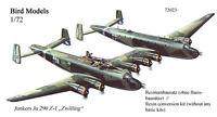 Junkers Ju 290 Z  Zwilling     1/72 Bird Models Umbausatz / Resin conversion kit
