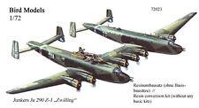 Junkers Ju 290 Z jumelle 1/72 Bird Models Kit Conversion/Resin Conversion Kit