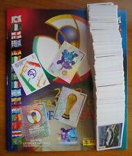 Panini WM 2002 Korea & Japan allle Sticker Komplett + Leeralbum