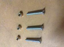 Scott bonnar 45 rover 45 pack of 3 clutch body bolts with nylon nuts