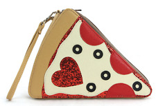 Sleepyville Critters Slice of Pizza Cross Body Shoulder Bag Handbag Purse